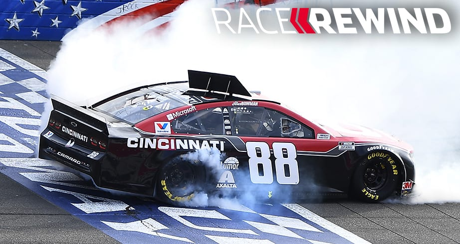 Relive the Fontana race in 15 minutes with Race Rewind