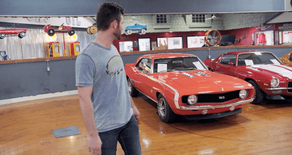 MotorTrend app: Corey LaJoie checks out 'sweet' classic cars