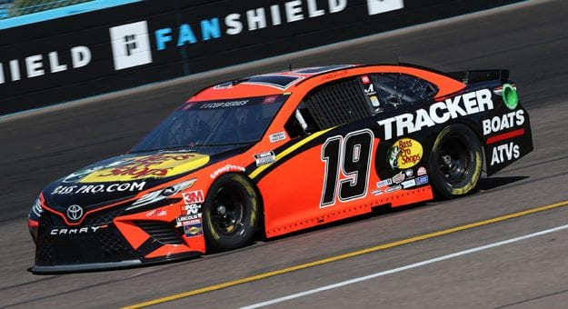 AVONDALE, ARIZONA - MARCH 06:  Martin Truex Jr., driver of the #19 Bass Pro Shops Toyota, practices during practice for the NASCAR Cup Series FanShield 500 at Phoenix Raceway on March 06, 2020 in Avondale, Arizona. (Photo by Chris Graythen/Getty Images) | Getty Images
