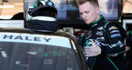 Justin Haley drives No. 11 Chevrolet Camaro to fifth-place finish at Phoenix Raceway