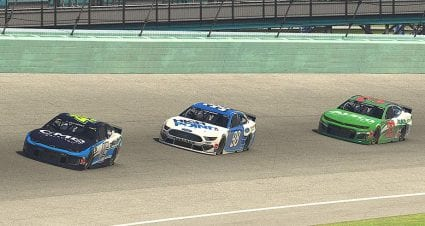 Ty Majeski wins last-chance qualifier; six drivers advance to Homestead iRacing main event