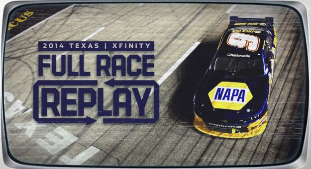 Rewatch Chase Elliott's 2014 Xfinity Series win at Texas