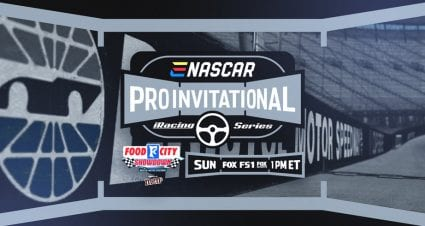 Entry list for iRacing Pro Invitational Series at Bristol Motor Speedway