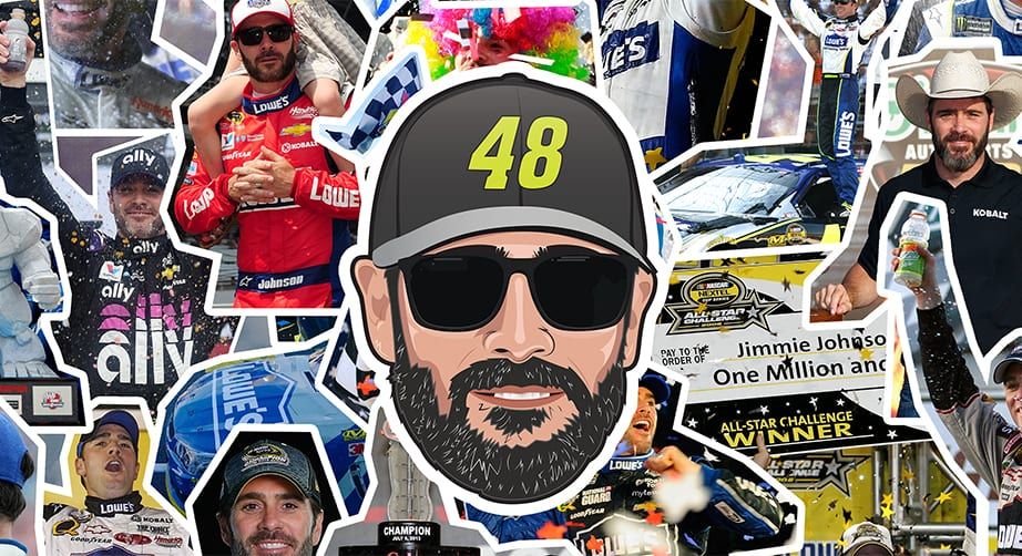 How to celebrate Jimmie Johnson Day on 48