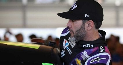 Jimmie Johnson's historic consecutive starts streak to end