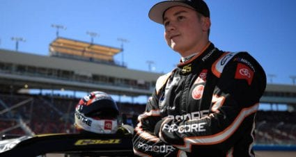 Christopher Bell earns first career top-10 finish at Bristol Motor Speedway