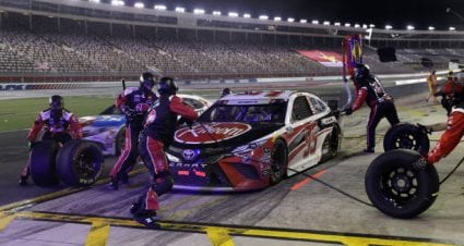 Christopher Bell takes ninth at Charlotte Motor Speedway
