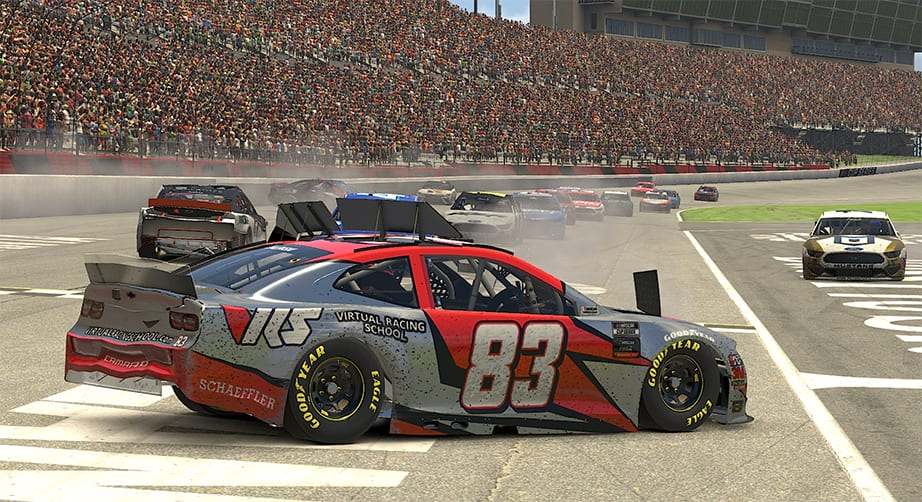 Coca-Cola iRacing Series sees the Big One at Atlanta
