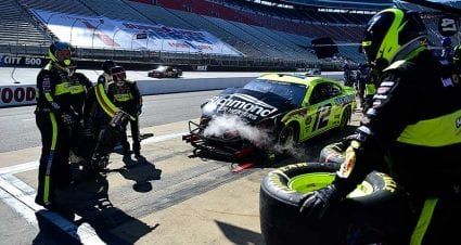 Ryan Blaney, Ty Dillon out early after Stage 2 crash at Bristol