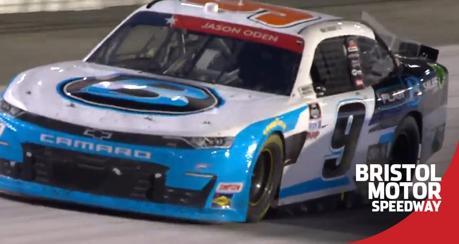Gragson surges at Bristol after incident with teammate Allgaier