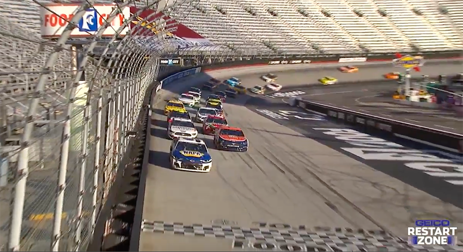 GEICO Restart Zone: How restarts shaped the end of the Bristol race