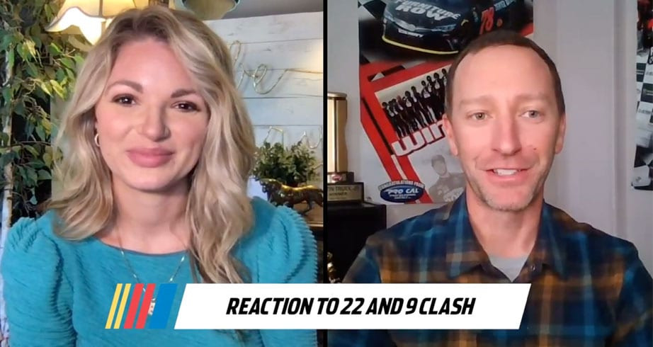 Cole Pearn reacts to drama between Elliott, Logano
