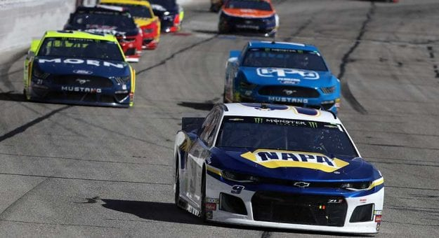 Starting lineup for Sunday's NASCAR Cup Series race at Atlanta