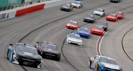 Jeremy Clements drives No. 51 Chevrolet Camaro to 13th-place finish at Atlanta Motor Speedway