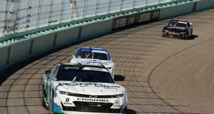 Justin Haley takes 13th place at Homestead-Miami Speedway