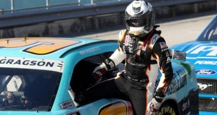 Noah Gragson drives No. 9 Chevrolet Camaro to third-place finish at Homestead-Miami Speedway
