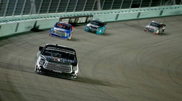 Raphael Lessard Drives No 4 Toyota Tundra To 11th Place Finish At Homestead Miami Speedway.jpg