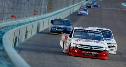 Tyler Ankrum drives No. 26 Chevrolet Silverado to second-place finish at Homestead-Miami Speedway