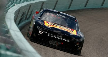Myatt Snider drives No. 93 Chevrolet Camaro to seventh-place finish at Homestead-Miami Speedway