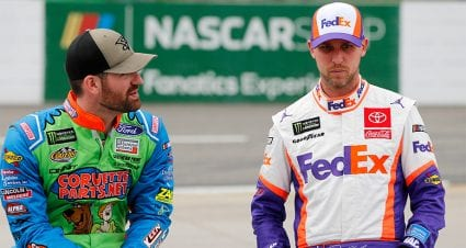 Inspired by Michael Jordan, Denny Hamlin gets leg up in friction with Corey LaJoie