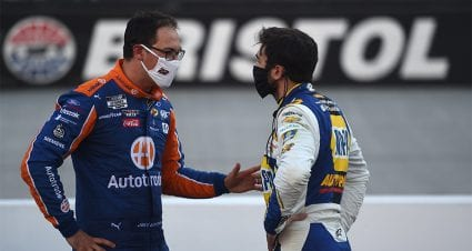 Logano on blocking Elliott at Miami: 'You race people how they race you'