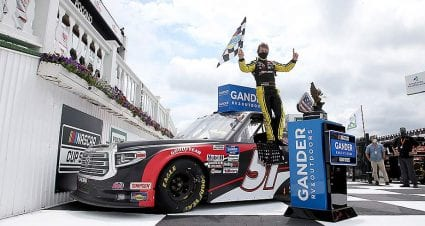 Brandon Jones wins Gander Trucks race at Pocono