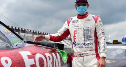 Jeremy Clements finishes third at Pocono Raceway