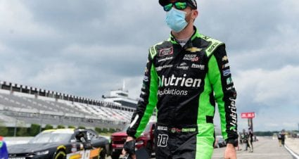 Ross Chastain takes second at Pocono Raceway