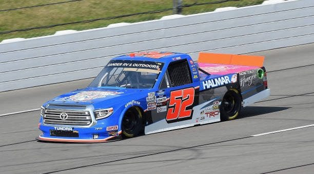 Stewart Friesen Drives No 52 Toyota Tundra To Eighth Place Finish At Pocono Raceway.jpg