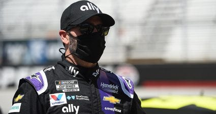 Jimmie Johnson stays hopeful amid 'wide range of emotions' after positive COVID-19 test
