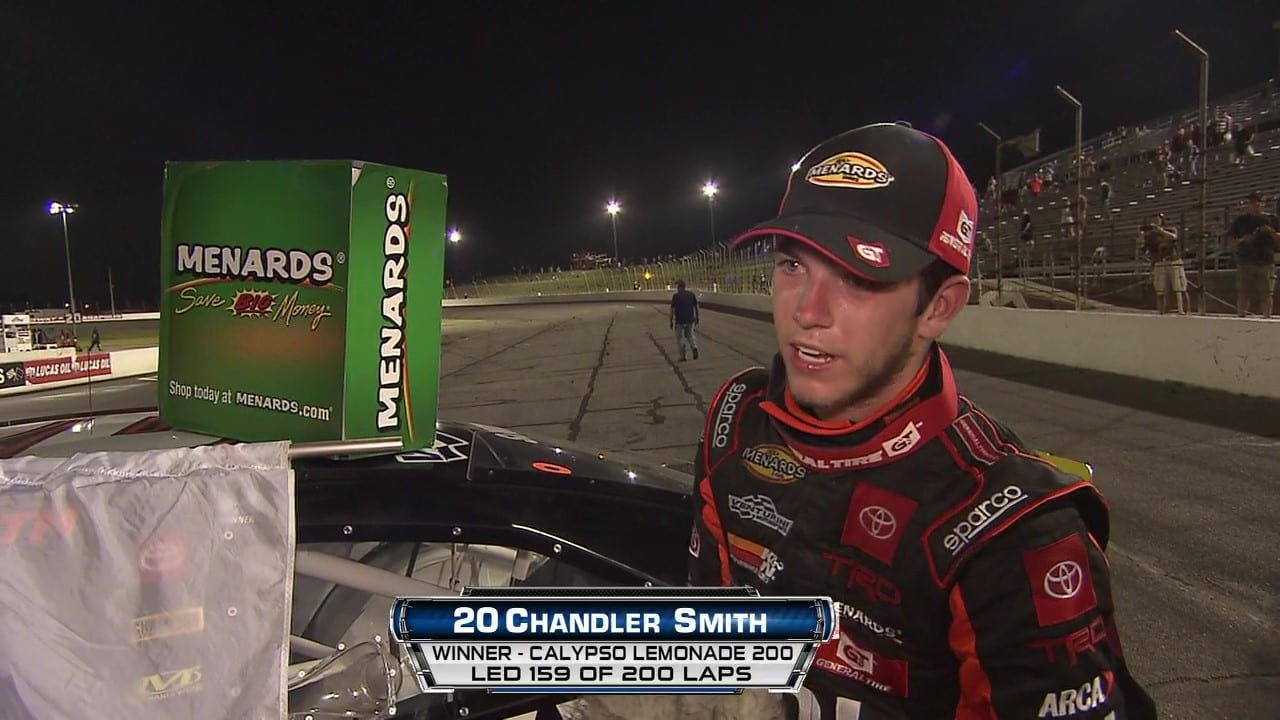 Chandler Smith Talks About His Lucas Oil Win