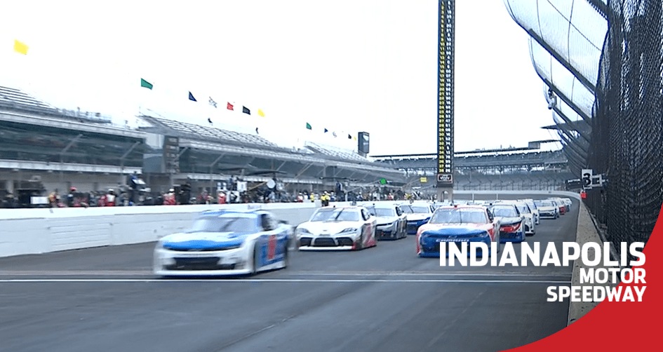 Watch NASCAR's Xfinity Series first laps on the Indy road course