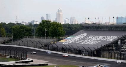 Alex Labbe drives No. 90 Chevrolet to eighth-place finish at Indianapolis Motor Speedway Road Course