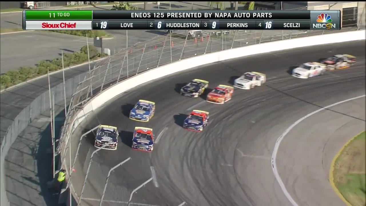Battle For The Lead at Irwindale