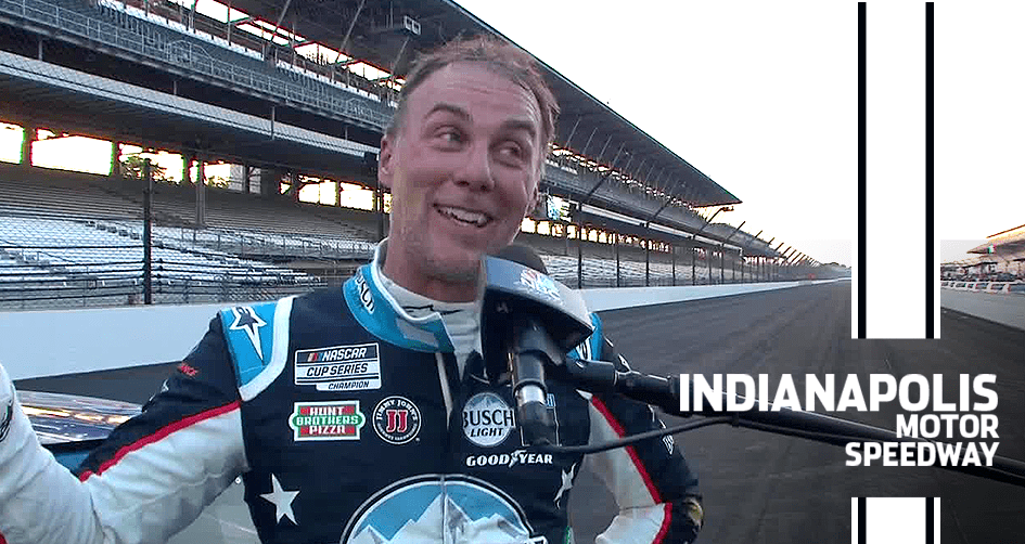 Harvick: I 'could have never' dreamed of three Brickyard wins