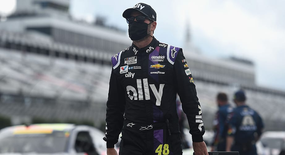 Jimmie Johnson cleared for return at Kentucky Speedway