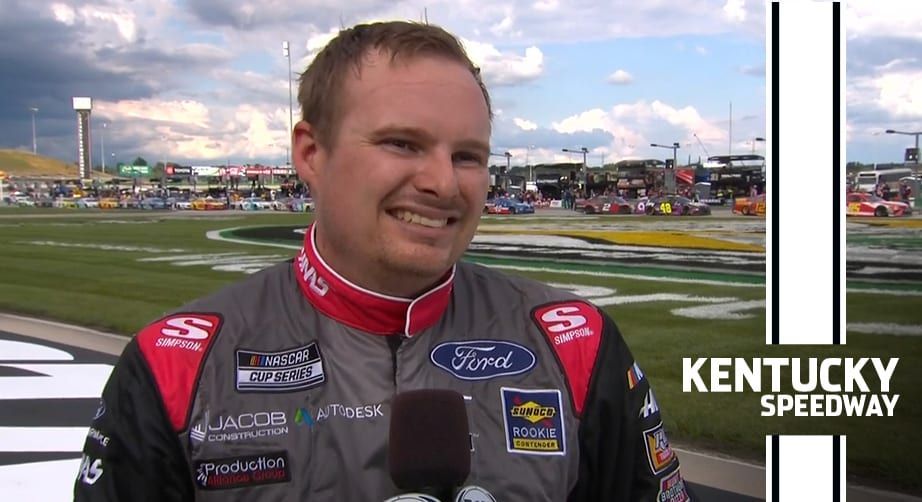 Cole Custer after winning at Kentucky: 'Best car I've ever driven in my life'