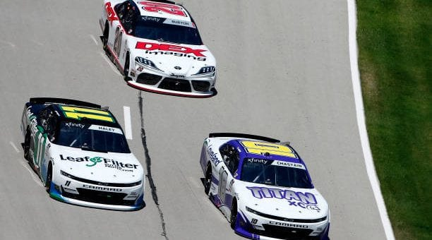 Justin Haley Drives No 11 Chevrolet Impala To Eighth Place Finish At Texas Motor Speedway.jpg