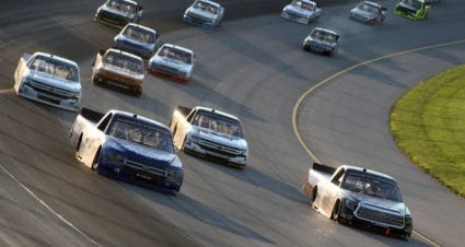 Tanner Gray earns first career top-five spot with third-place finish at Michigan International Speedway