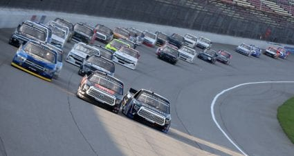 Todd Gilliland finishes fifth at Michigan International Speedway