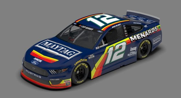2020 Ryan Blaney Throwback Menard