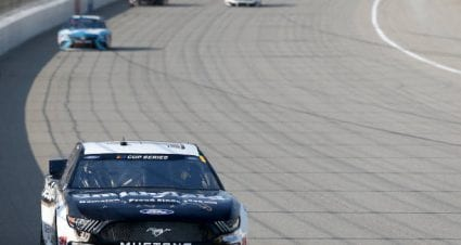 Aric Almirola finishes sixth at Michigan International Speedway