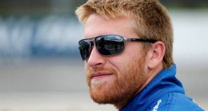 Chris Buescher drives No. 17 Ford Mustang to fifth-place finish at Daytona International Speedway Road Course