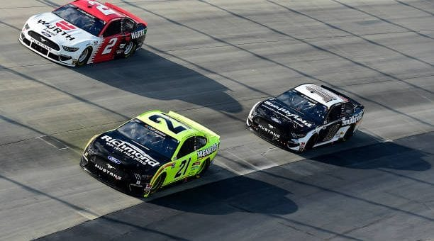 Aric Almirola Drives No 10 Ford Mustang To Seventh Place Finish At Dover International Speedway.jpg