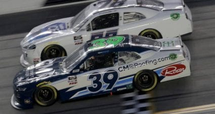 Vinnie Miller drives No. 78 Toyota Supra to 11th-place finish at Daytona International Speedway