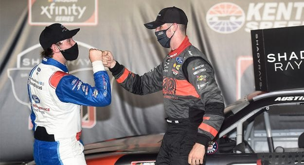 Briscoe, Cindric immersed in Xfinity title chase with uncertainty of '21 taking backseat