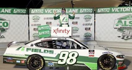 Eight is enough: Chase Briscoe reaches win goal in Xfinity Series Playoffs opener in Vegas