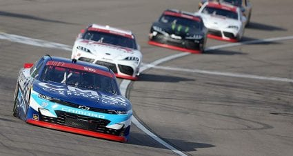 Ryan Sieg swings to Xfinity Playoffs' plus side with top-five finish in Vegas opener