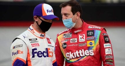 Hamlin on introspection amid Kyle Busch's winless skid: 'It's not all just luck'