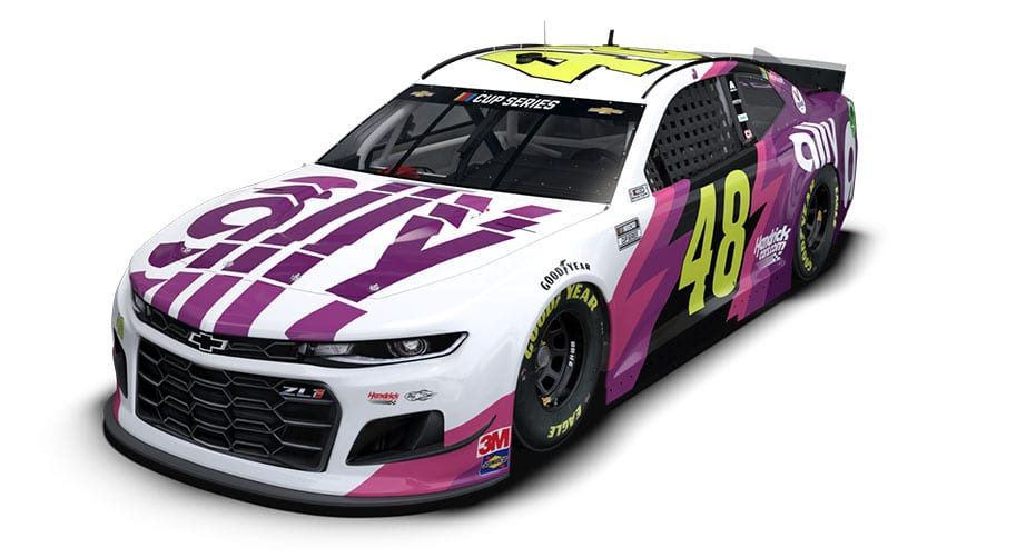 Lefty's dream: Jimmie Johnson's No. 48 design hits Texas | NASCAR